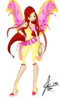 Winx: Azerith Believix by DragonShinyFlame
