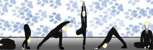Yoga Like his First Name by berrypeculiar