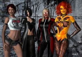 The Bad Girls by hotrod5
