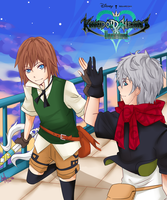 Kingdom Hearts: Unchained X by manga1357