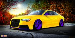 2012 RS5 ''Juicy Fruit'' Rotiform by Moe-Z-design