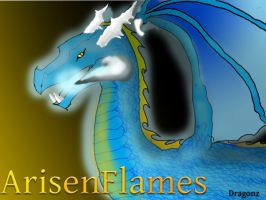 ArisenFlames Dragon Reference by DragonzFire95