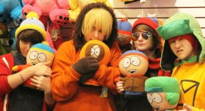 South Park: Group Plushies by II2DII