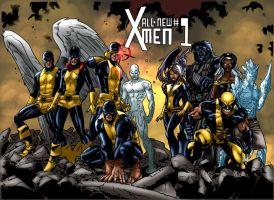 Immonen X Men Recreation by MarcBourcier