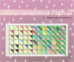Green Gradients Pack II by Coby17