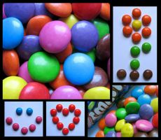 smarties composition. by purplerainistaken