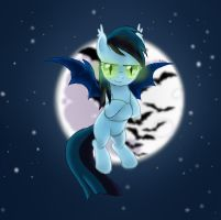 [Request] Zephyr: The Bat Pony by inuneechan