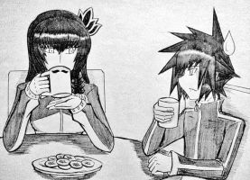 Tea Time with Aiden by ExusiaSword