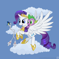 Cupix, fly high! by SwanLullaby