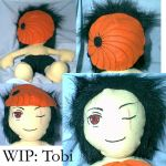 WiP- Tobi Plushie by Necronomical