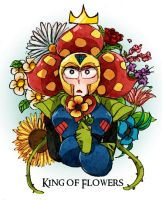 Plantman: King of Flowers by c0ralus