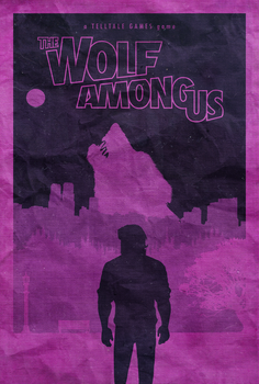 The Wolf Among Us - Poster by edwardjmoran