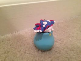 Chibi Kyogre by StarryLion