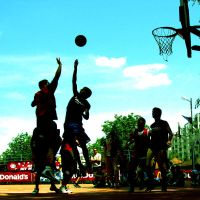 basketball by floripecampii