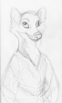 Treeweasel sketch concept by pen-umbral