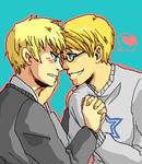APH - you make my heart super happy by Gandalfia