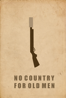 No Country For Old Men poster by SpaceDelusion