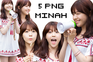Pack 5 PNGs Minah by KyleSESS