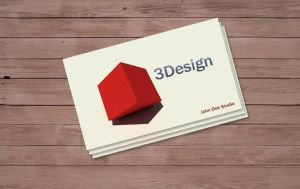 3D BUSINESS CARD by Freshbusinesscards
