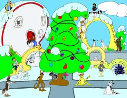 Christmas in Whoville by PhantomDP