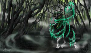 The Old One (Bringer of death or death spirit) by Mecino