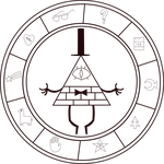 Gravity Falls Transparent Cipher by Jedflah