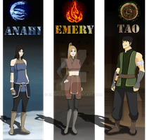 LOK oc: Season 1 by EmaNosha