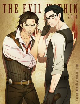 The Evil Within Anime Version by Joberu