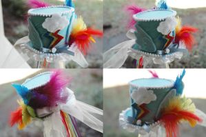 New Hat 12 - Rainbow Dash by NoFlutter
