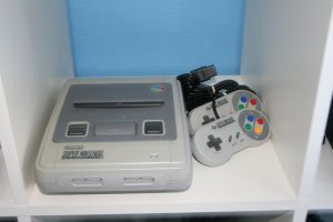 Super Nintendo entertainment system by TRLC-SEGA
