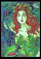 Poison Ivy in Batik by HanieMohd
