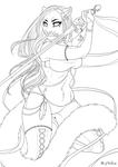 Bad Blood / Lineart by Ryltha