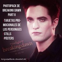 Photopack de Breaking Dawn Part II by MissJanePattinson