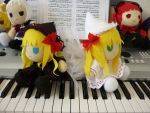 Lily White and Lily Black by touhouplushies