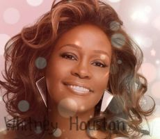 Whitney Houston by Dakotahorse