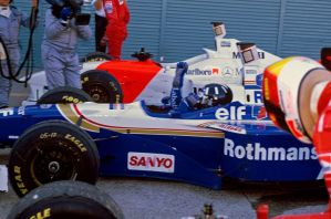 Damon Hill (Japan 1996) by F1-history