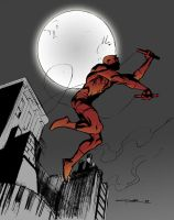 Daredevil sketch 02 by Cinar