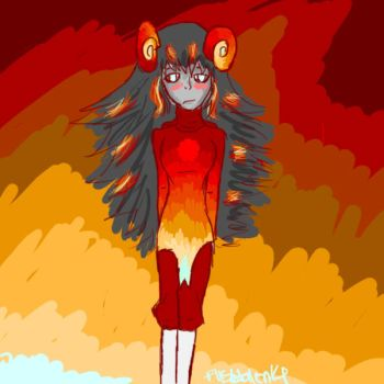 Burning Aradia by Dusktalon14