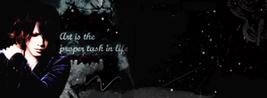 Ruki Facebook Timeline Cover - The Proper Task by vulgar-thoughts
