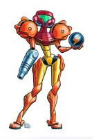 Samus Metroid by Chad73
