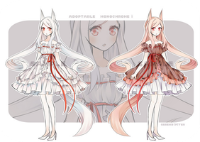 [CLOSED] Adoptable: Monochrome I by Serendipiter