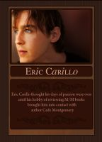 Five Star Review trading card - Eric Carillo by ajCorza