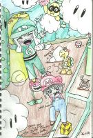 ~*Thatch and Waiori in the Mario World*~ by Nite3007