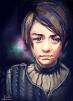 Little Arya by kashao