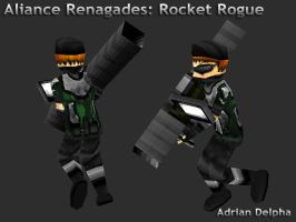Alliance Renegades: Rocket Rogue by DelphaDesign