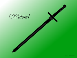 Wuetend the Sword by LadyDeliz