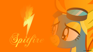 Spitfire Headshot Wallpaper by nsaiuvqart