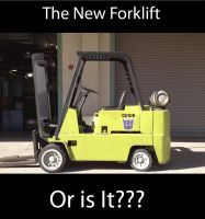 The New Forklift by Ghost141