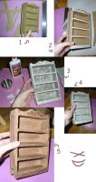 Miniature Shelf Tutorial by kayanah