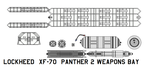 Xf-70  Panther 2 weapons bay by bagera3005